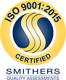 ISO Certified badge